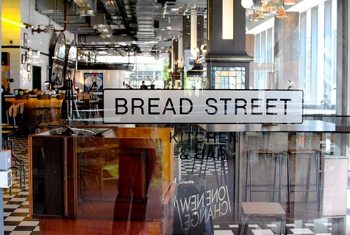 bread street signage