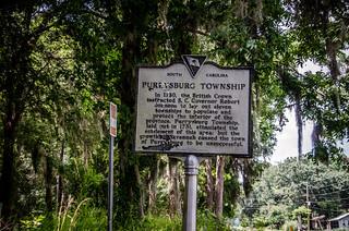 Purrysburg Township Marker