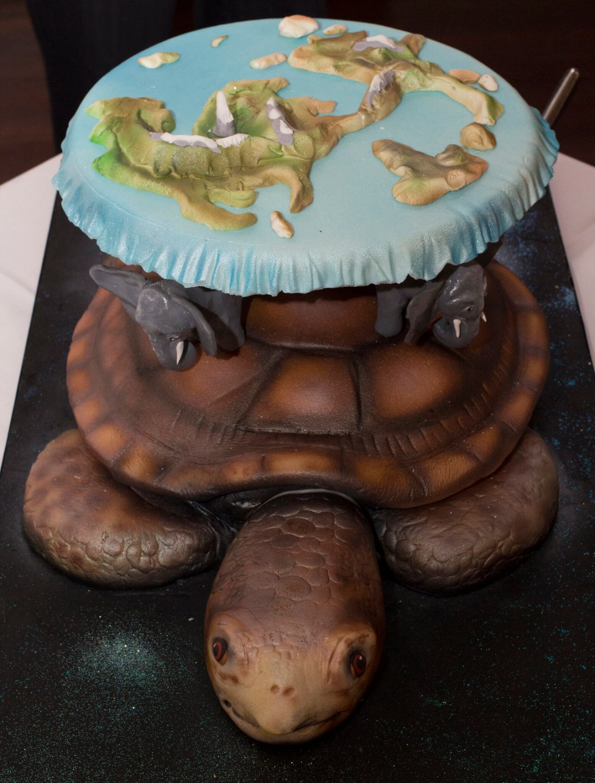 Terry Pratchett's Discworld Cake