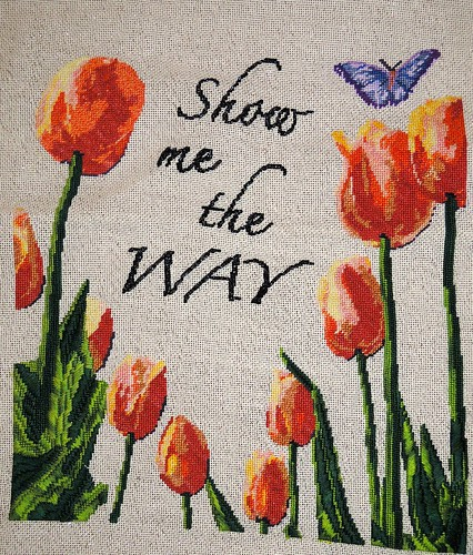 Tulips - Stitched by Carmen CS