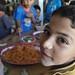 Supplying food aid inside Syria