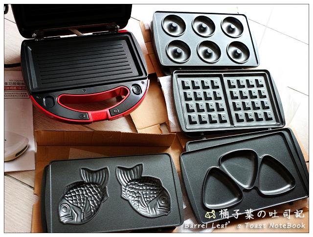【imarflex 伊瑪】5合1鬆餅機 IW-702|終於入手! 五款烤盤自由變化 不抹油也不沾 | | Barrel Leaf 桶子葉的吐司記
