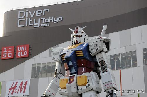 Badass Gundam in Odaiba !