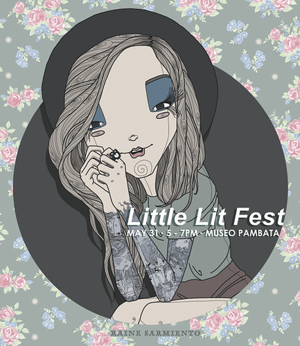 Raine Sarmiento at the LittleLitFest