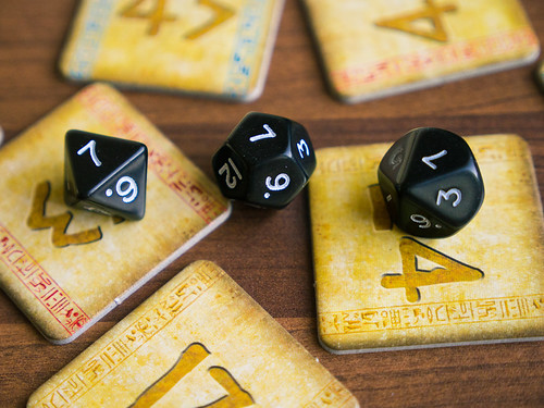 Pharaoh Code dice