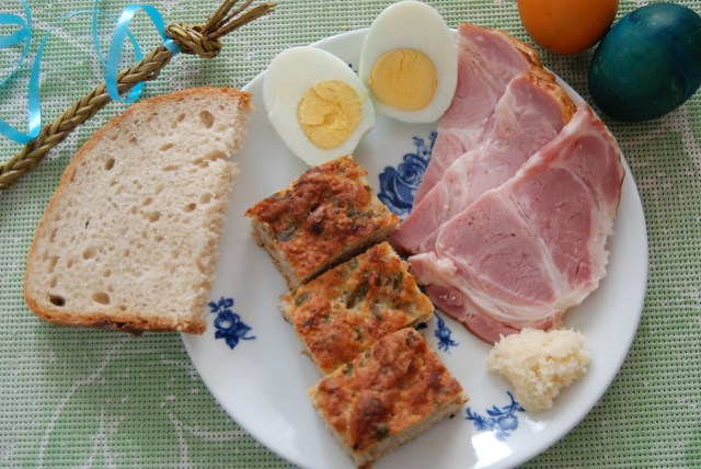Slovak Easter Breakfast
