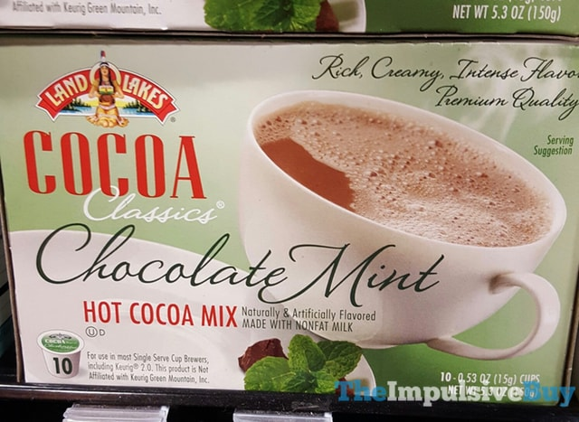 Land-O-Lakes Cocoa Classics Chocolate Mint K-Cups