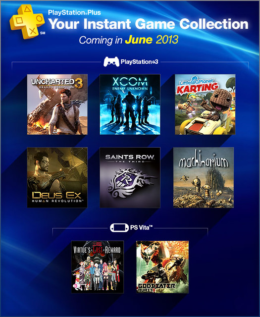 PlayStation Plus Instant Game Collection: Year One