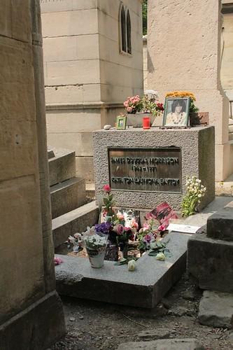 Cimitero di Père LaChaise: Jim Morrison