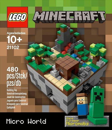 21102 Minecraft Micro World