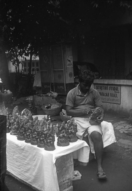 Ganesha Idol Vendor