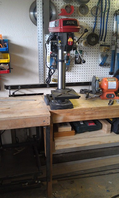Drill Press - Front