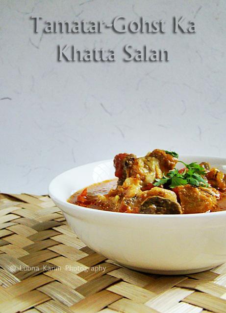 Tamatar-Gohst Ka Khatta Salan