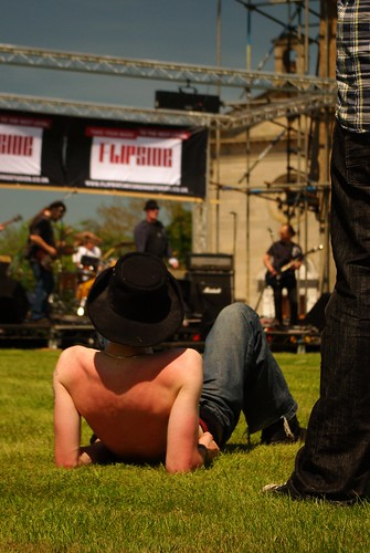 20120527-24_Flipside Stage - Watching StoneFire in the Sun by gary.hadden