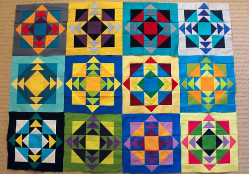 Simply Solids Bee, Carmine Group - May blocks