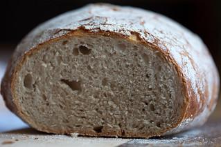 beer bread with beer glaze