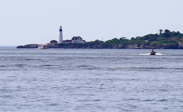 Portland Headlight from Casco Bay