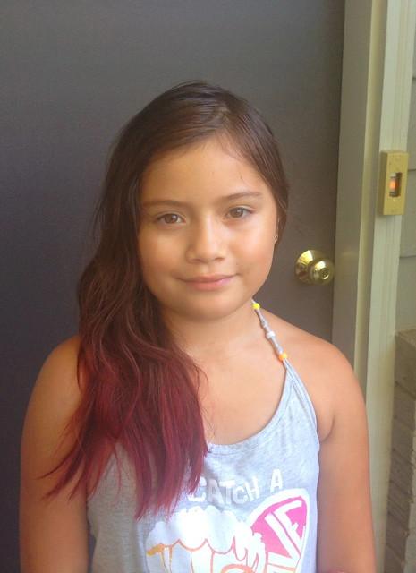 Pretty red hair!