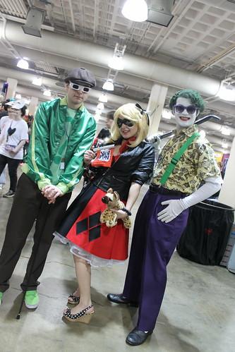 Riddler, Harley Quinn & Joker
