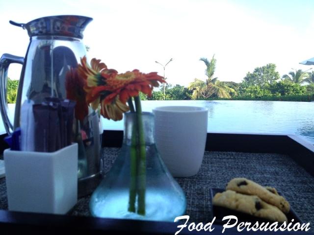 poolside coffee