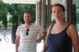 Local A. består av konstnärerna Felice Haptzeder och Jenny Bernsson.