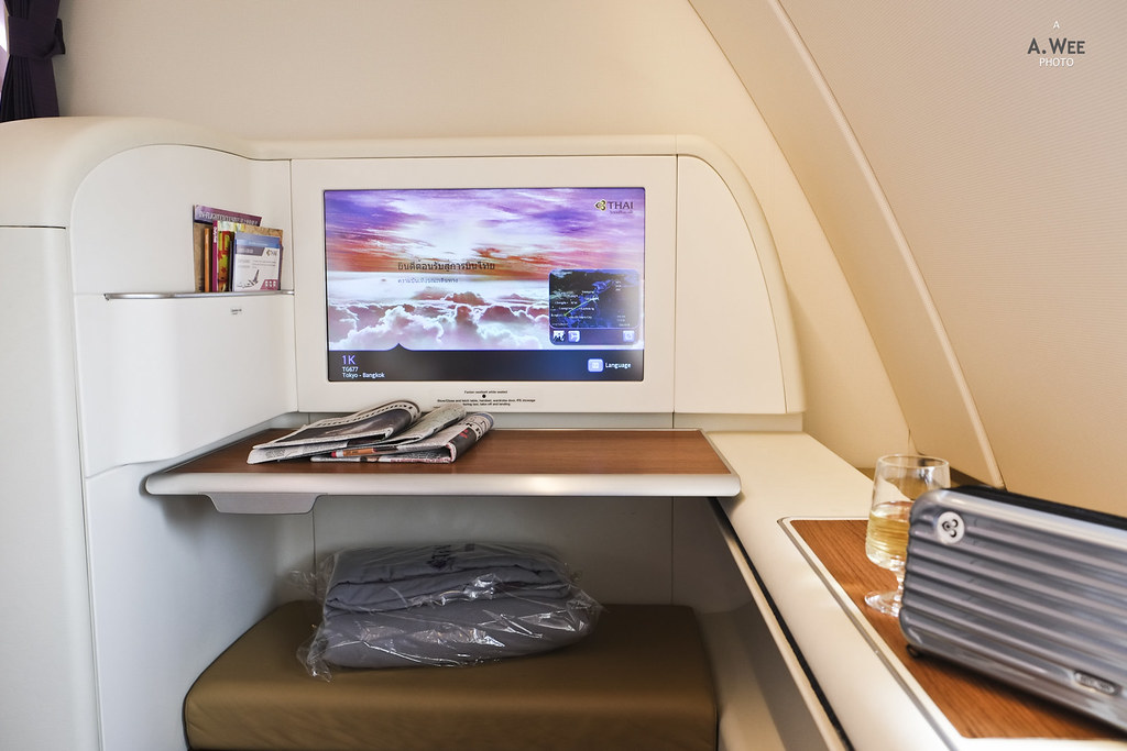 Thai First Class on the A380