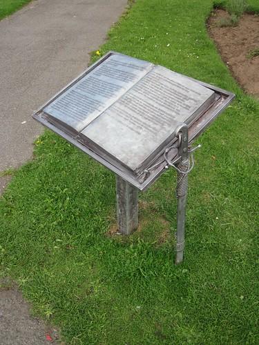 Sir Rex Hunt Memorial, Redcar