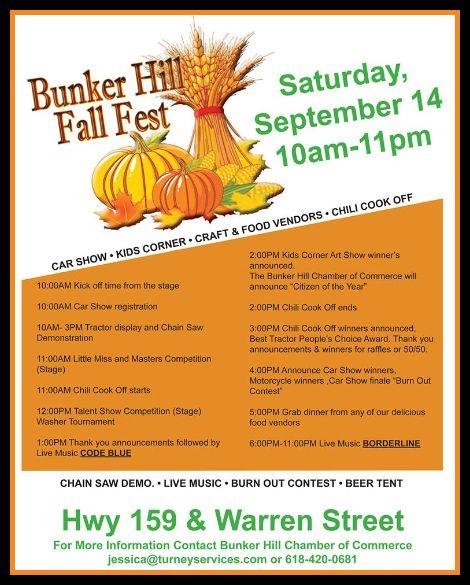 Bunker Hill Fall Fest 9-14-13