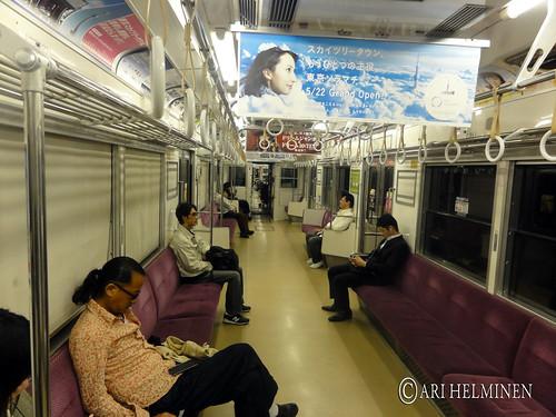 Helsinki to Tokyo via London