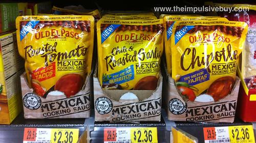 Old El Paso Mexican Cooking Sauce
