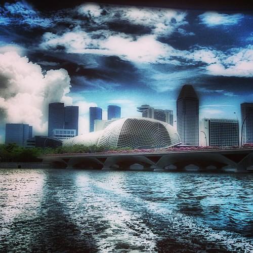 The Esplanade and The Marina Bay District #singapore by @MySoDotCom