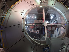 King Philippe inspects Columbus module