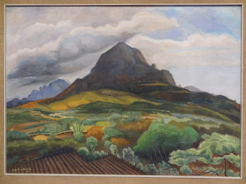 Cerro del tesoro, by Angelina Beloff (1964).