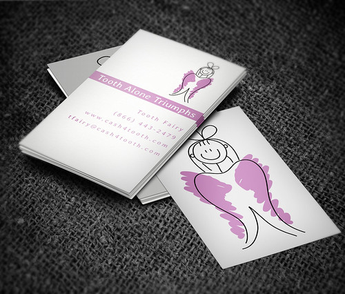 Tooth Fairy Business Card by rutchee