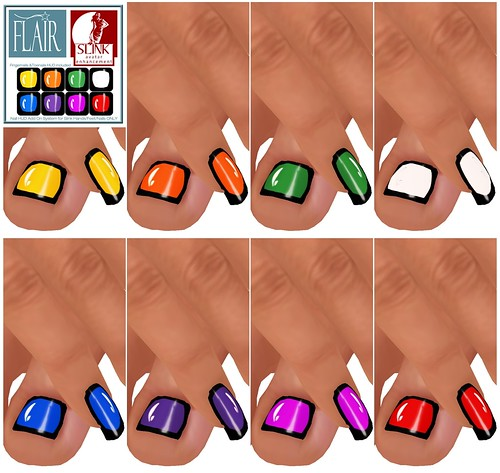 Flair - Nails Set 72