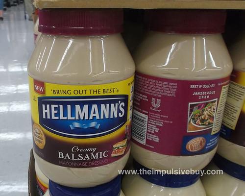 Hellmann's Creamy Balsamic Mayonnaise Dressing