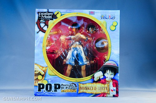 Monkey D. Luffy - P.O.P Sailing Again - Figure Review - Megahouse (1)