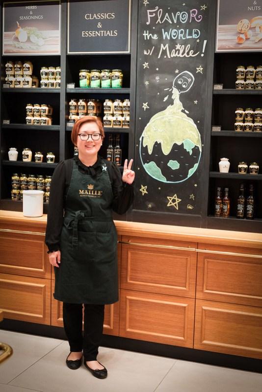 Maille Mustard Advisor, Nicole So - Flatiron, NYC
