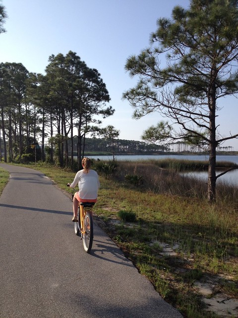 biking to Seaside