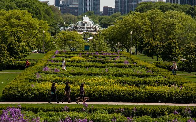 Millennium Park gardens