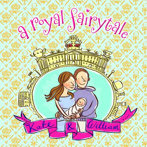 Joanna Rivard and Adam Larkum, A Royal Fairytale