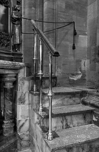 Pulpit steps