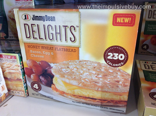 Jimmy Dean Delights Honey Wheat Flatbread Bacon, Egg, & Cheese