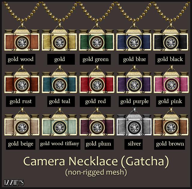 Camera Necklace Gatcha
