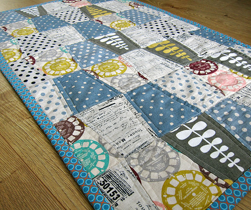 Tumbler quilt closer 2