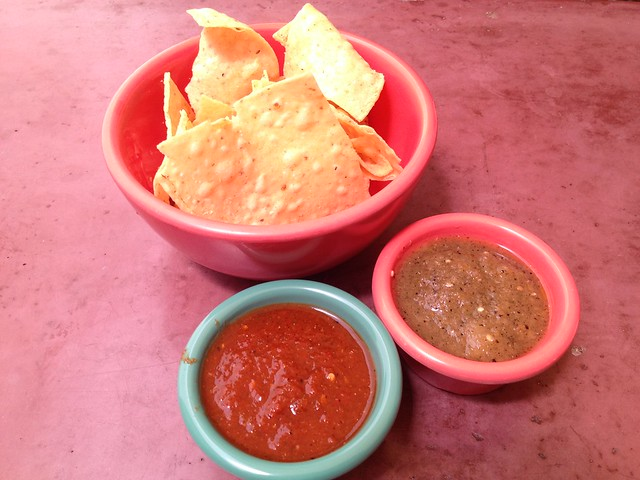 Chips and salsa - The Little Chihuahua