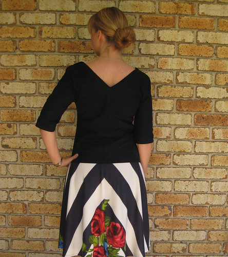 Sewing Cake Tiramisu Skirt, Cabarita Top