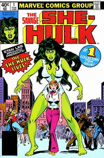 She Hulk comic cover