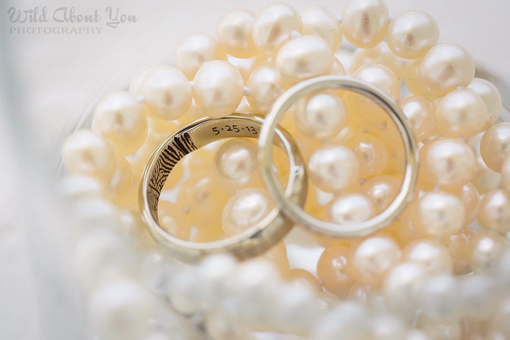 engraved fingerprint ring