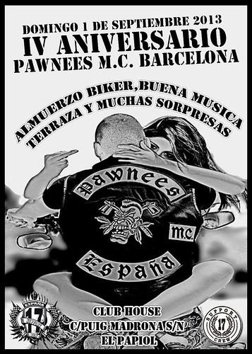IV Aniv. Pawnees MC Barcelona